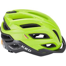 KED Champion Visor Casque, green black